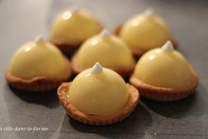Mini bouchées au citron