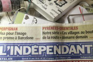 Article dans  L'indépendant - Journée intergénérationnelle du mois de Mai