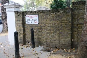 Autumn walk in Holland Park & Kyoto Garden