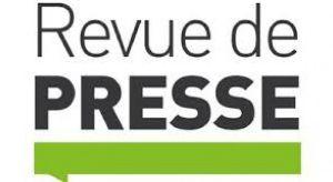 Actualité: Revue de presse 8 oct 2015