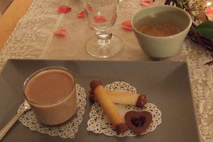Dessert de Saint Valentin...