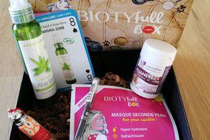 Ma Biotyfull Box de Août 2017