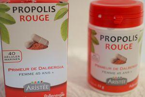 POUR NOUS LES FEMMES ...... A PARTIR DE 45 ANS : LA PROPOLIS ROUGE