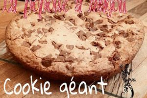 Cookie géant et New blog