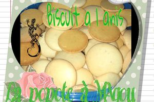 Biscuits a l anis