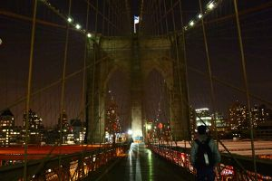 New-York : Brooklyn bridge