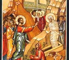 Homélie du 5ème dimanche de Carême: La Resurrection de Lazare (2016)