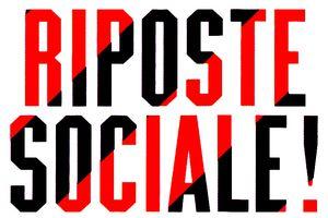 RIPOSTE SOCIALE !