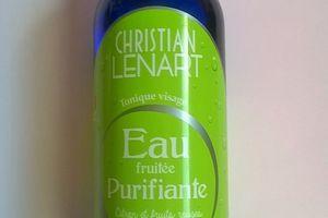 Christian Lenart, Eau purifiante