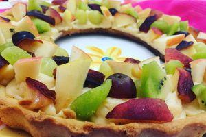 🍇🍑Tarte aux fruits 🥝🍎