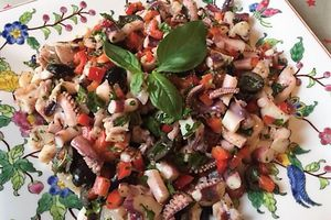 Provencal Marinated squid - gluten free