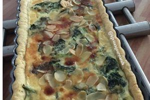 Quiche Epinard - Gorgonzola