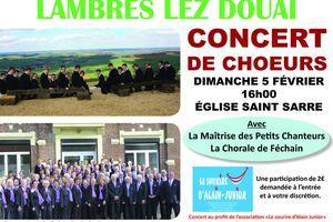 Concert de choeurs