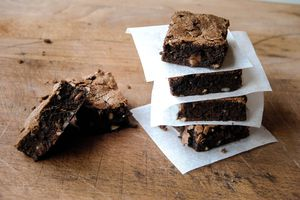 Brownies de Cyril Lignac
