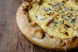 Quiche aux 3 fromages