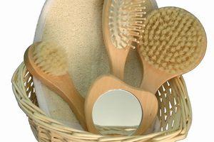 Brossage à sec de la peau