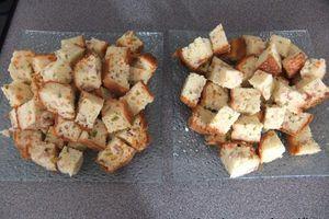 Cake apéritif aux légumes, lardons et cumin thermomix ou non