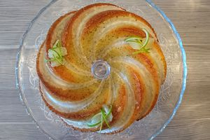 Bundt cake citron graines de pavot