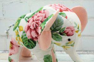 Doudou éléphant Flora