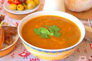 Soupe Marocaine traditionnelle - Harira