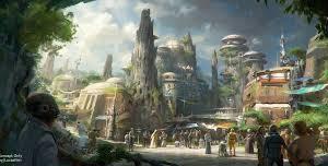 Star Wars Land, la maquette du parc présentée en vidéo