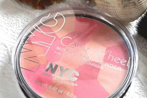 Zoom sur le blush NYC