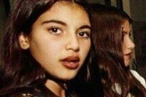 See throwback photos of Kim Kardashian as a teenager [PHOTOS]