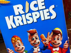 Vous aurez donc besoin de ça : Rice Krisipies + Marshmallows