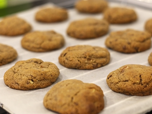 Recette Cookies au chocolat/caramel, made in New York