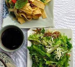 Restaurant Dali CourtYard. Spécialités du Yunnan