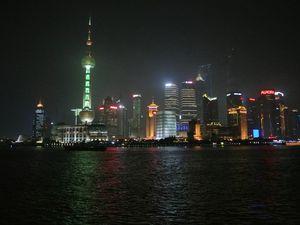 Shanghai - Xian : les gars en première classe ...