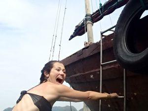 A l'eau matelot!!!