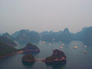 D'Hanoi à la baie d'HaLong, la route du touriste!