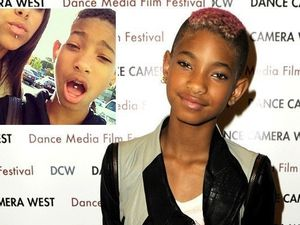 'It's fake!' Willow Smith doesn't have a tongue piercing