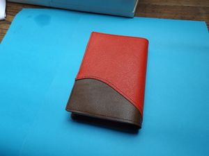 Couverture Bible en cuir, rouge/marron, traduction anglaise