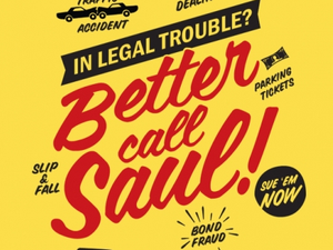 Camiseta personalizada &quot&#x3B;Better call Saul&quot&#x3B;