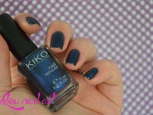 Pearly sapphire blue - Kiko 522