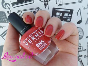 My extrem vernis Hibiscus - Beautynails