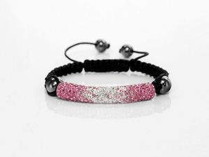 Braided Macrame Shamballa Tube Friendship Bracelet