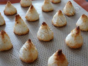 Congolais-Macarons à la noix de coco