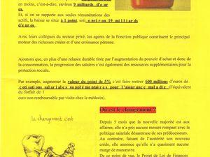 Moselle : l'UGFF CGT Fonction publique Grève et mobilisation le 23 octobre 2012
