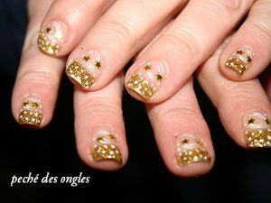 Nail art de nouvel an!!!