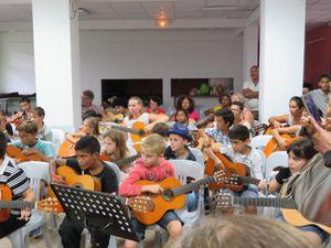 Audition Guitare des élèves de Gérald LORICOURT