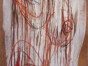 Acrylique + pastel sur bois / 2013