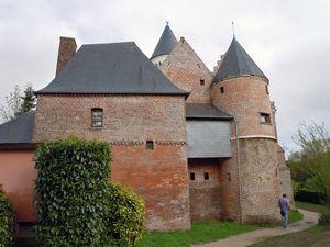 Retour en flânant par la vallée de la bresle,ancien moulin à eau,musée dans un ancien château.