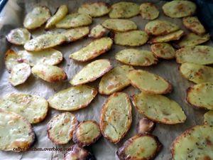 Pommes de terre au four à la cancoillote