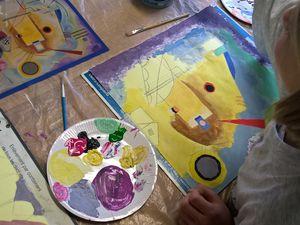 Kandinsky, Cézanne et Monet s'invitent chez nos jeunes artistes