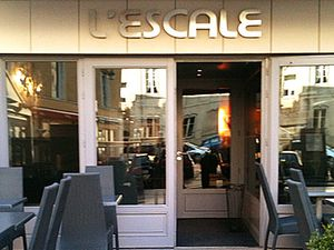 L'escale, rue gourmande à Nancy.