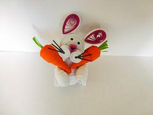 Le lapin et ses carottes