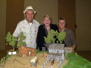 Photos de ma maquette avec Alison et Patrick.